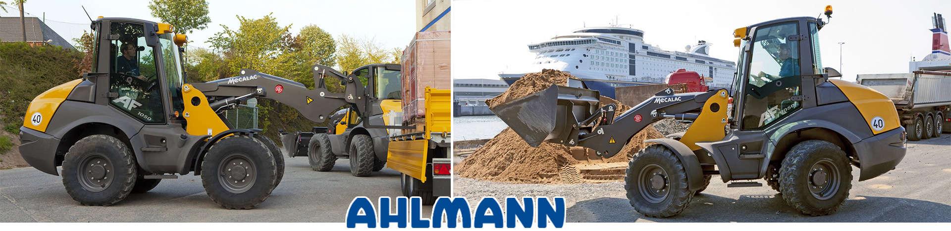 Ahlmann Radlader, Schwenklader, Knicklader bei MBN Baumaschinenwelt