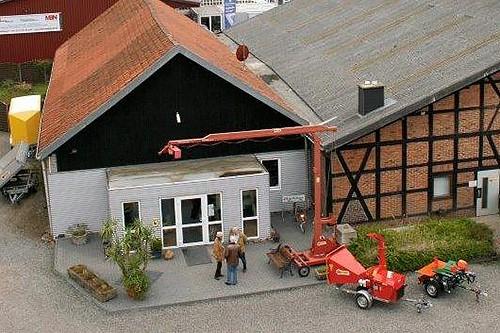 Firmengelände der MBN Lars Hoppe GmbH