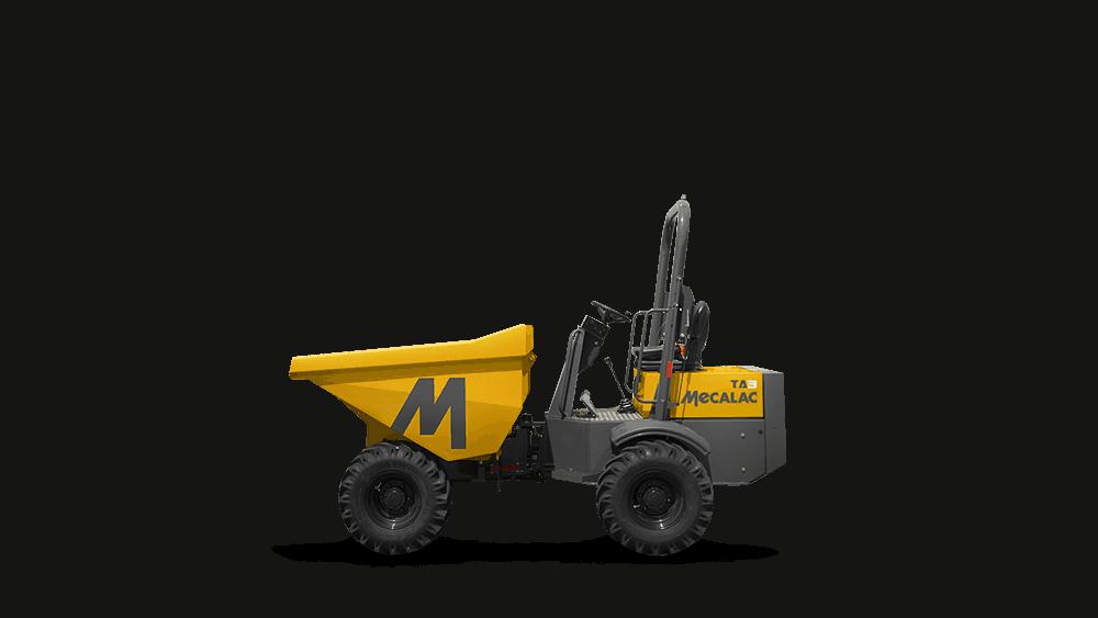 Baustellenkipper Mecalac TA3