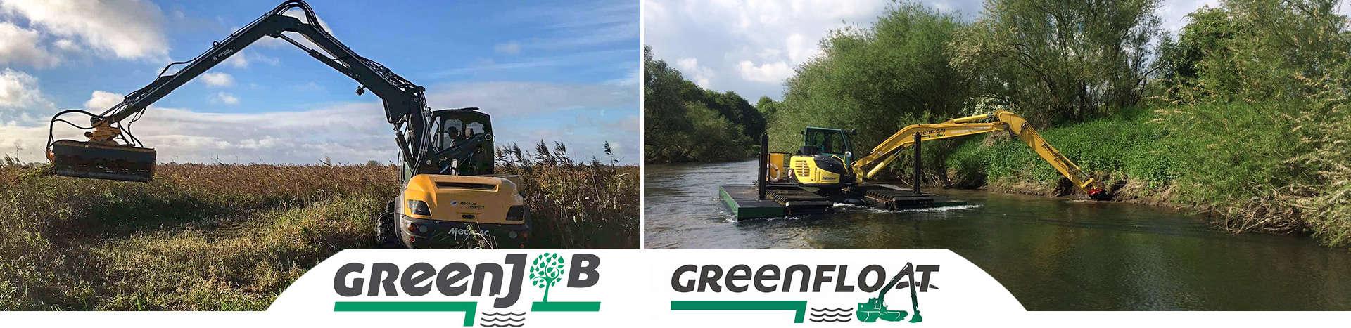 GreenJob & Greenfloat. MBN GreenLine