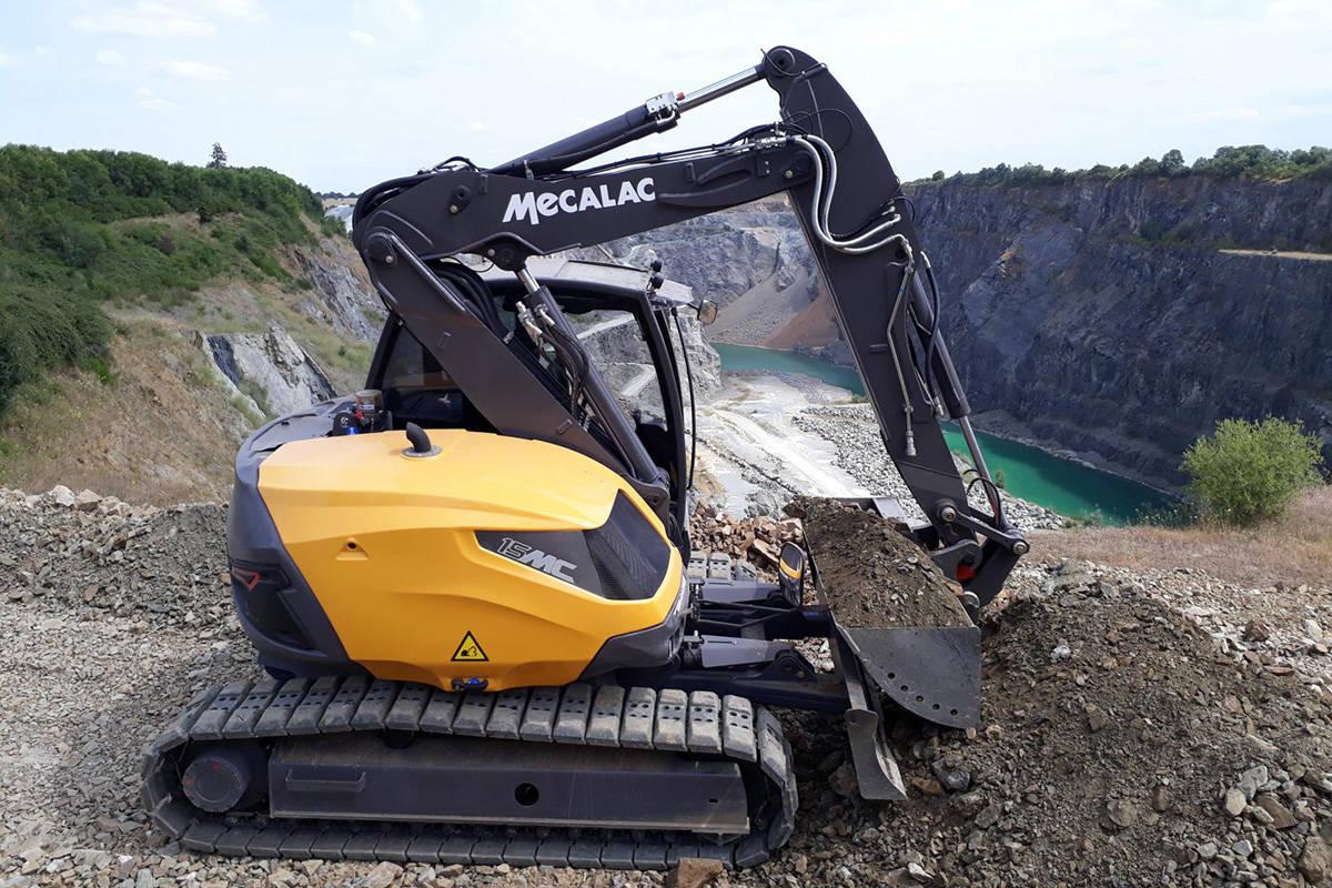 Bagger 15MC von Mecalac