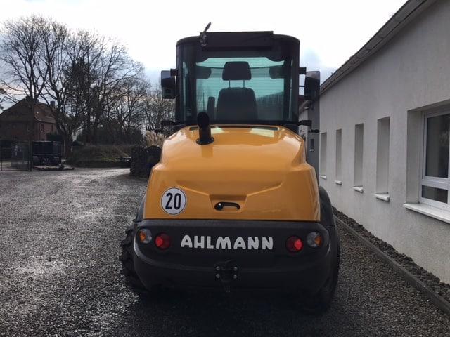 AHLMANN AF 1200 AF1200 gebraucht Frontlader Radlader Vierradlenkung Boosterline monoboom MBN Baumaschinen 4