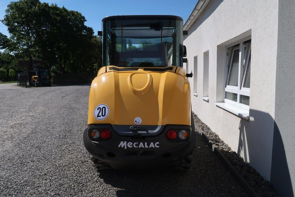 AHLMANN AX 700 AX700 gebraucht knickgelenkt Radlader Knicklader MBN Baumaschinen 6