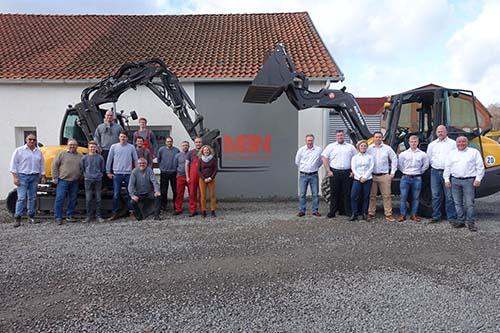 MBN Team Baumaschinen Vertrieb Miete Service