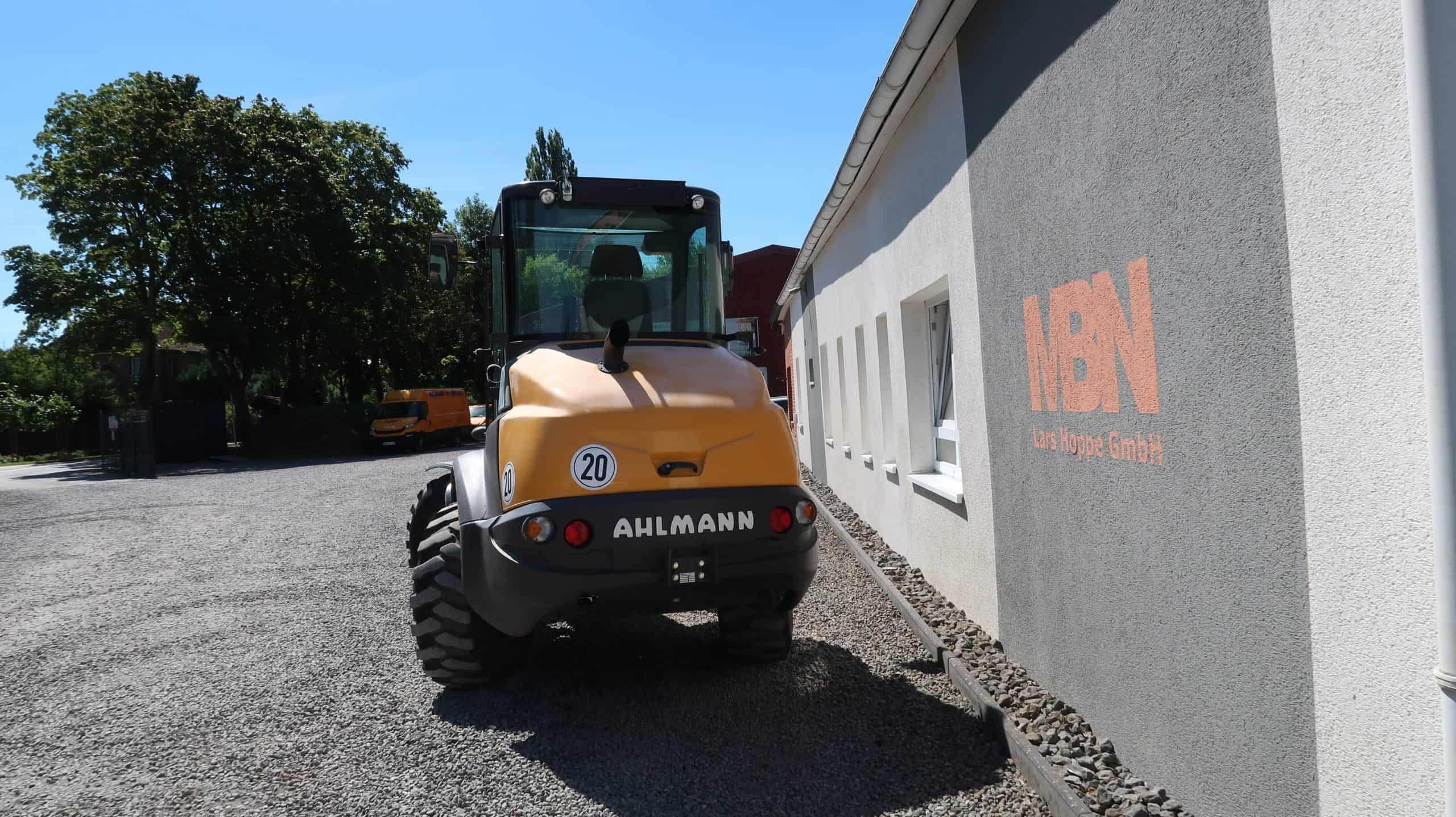 Ahlmann-Mecalac-Frontlader-AF-1050-Heck