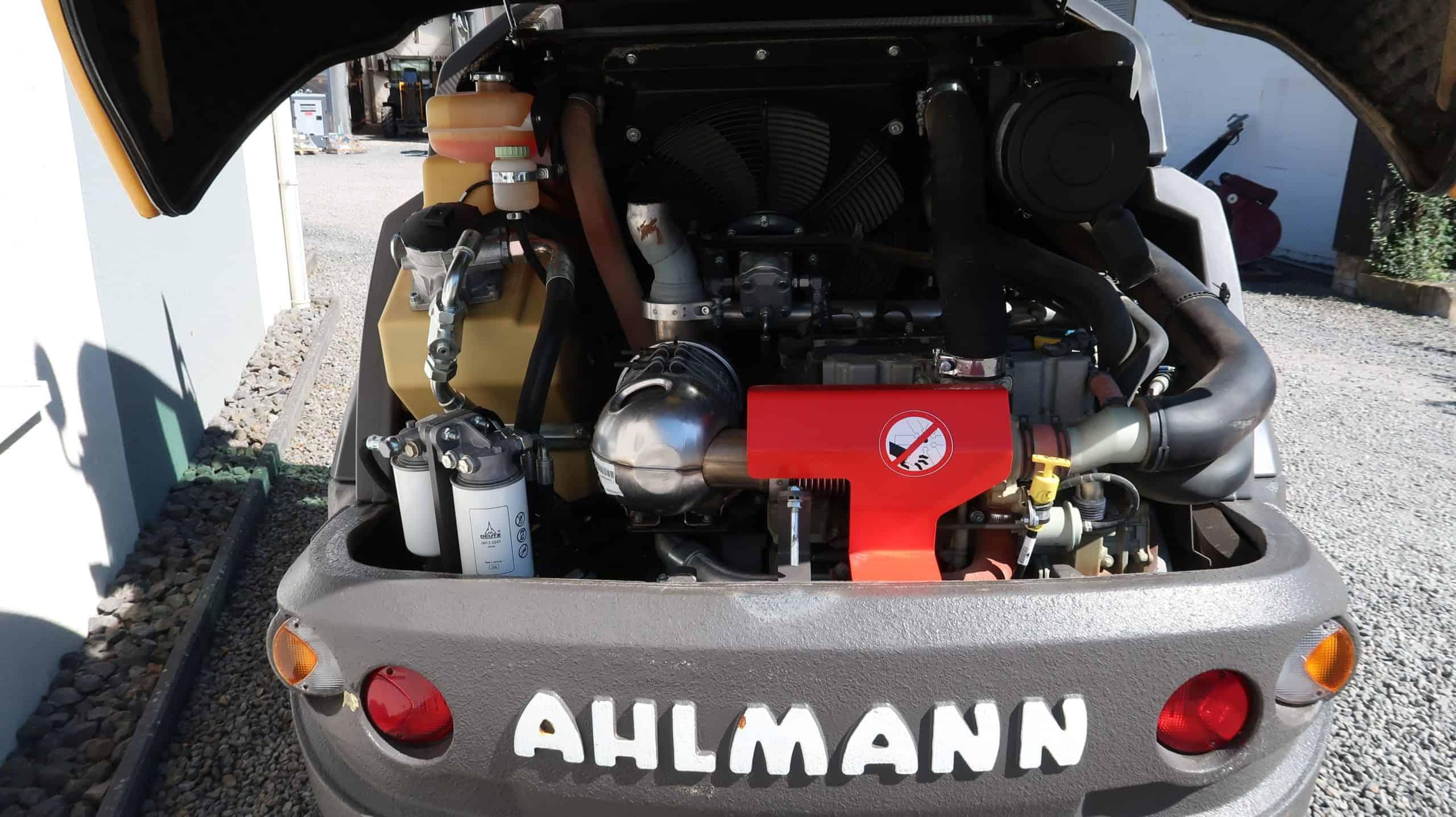 Ahlmann-Mecalac-Frontlader-AF-1200-Motor