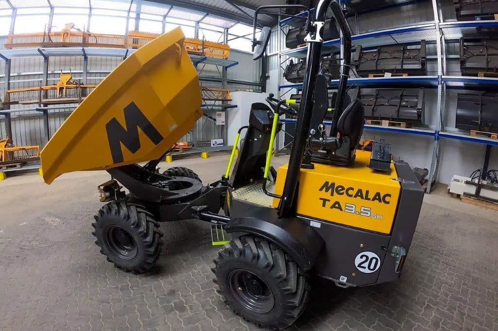 Baustellenkipper Mecalac TA3 ab sofort verfügbar