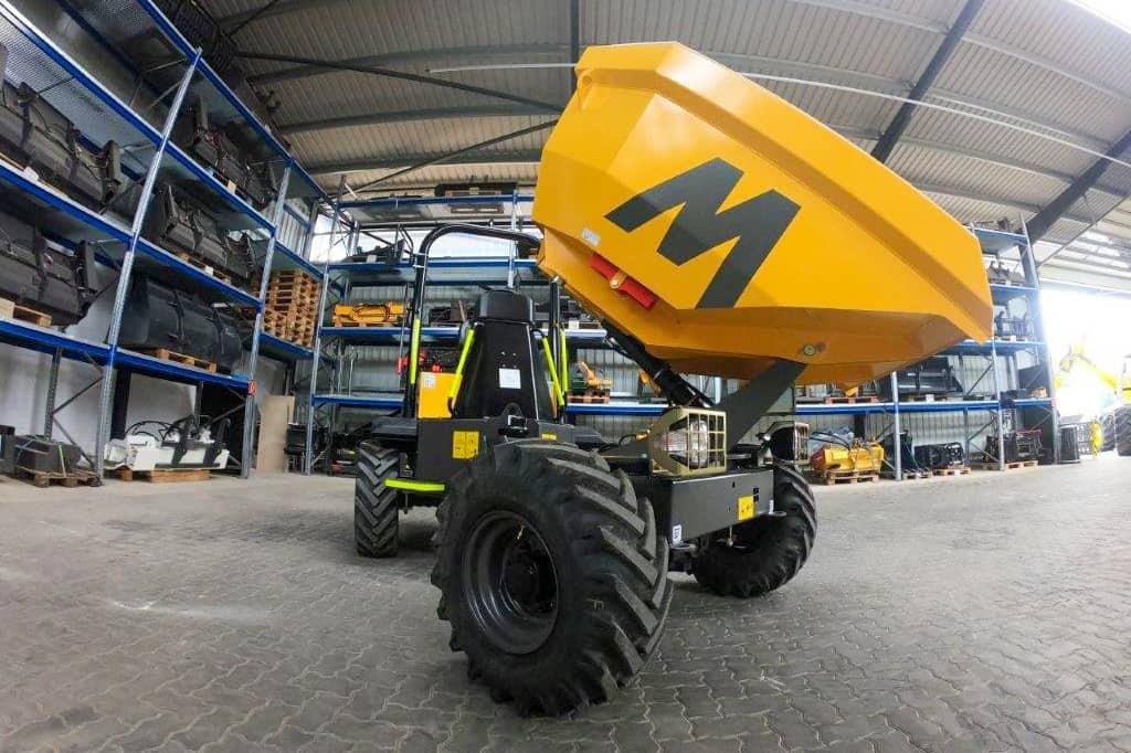 Mecalac TA3 Baustellenkipper bei der MBN Baumaschinenwelt
