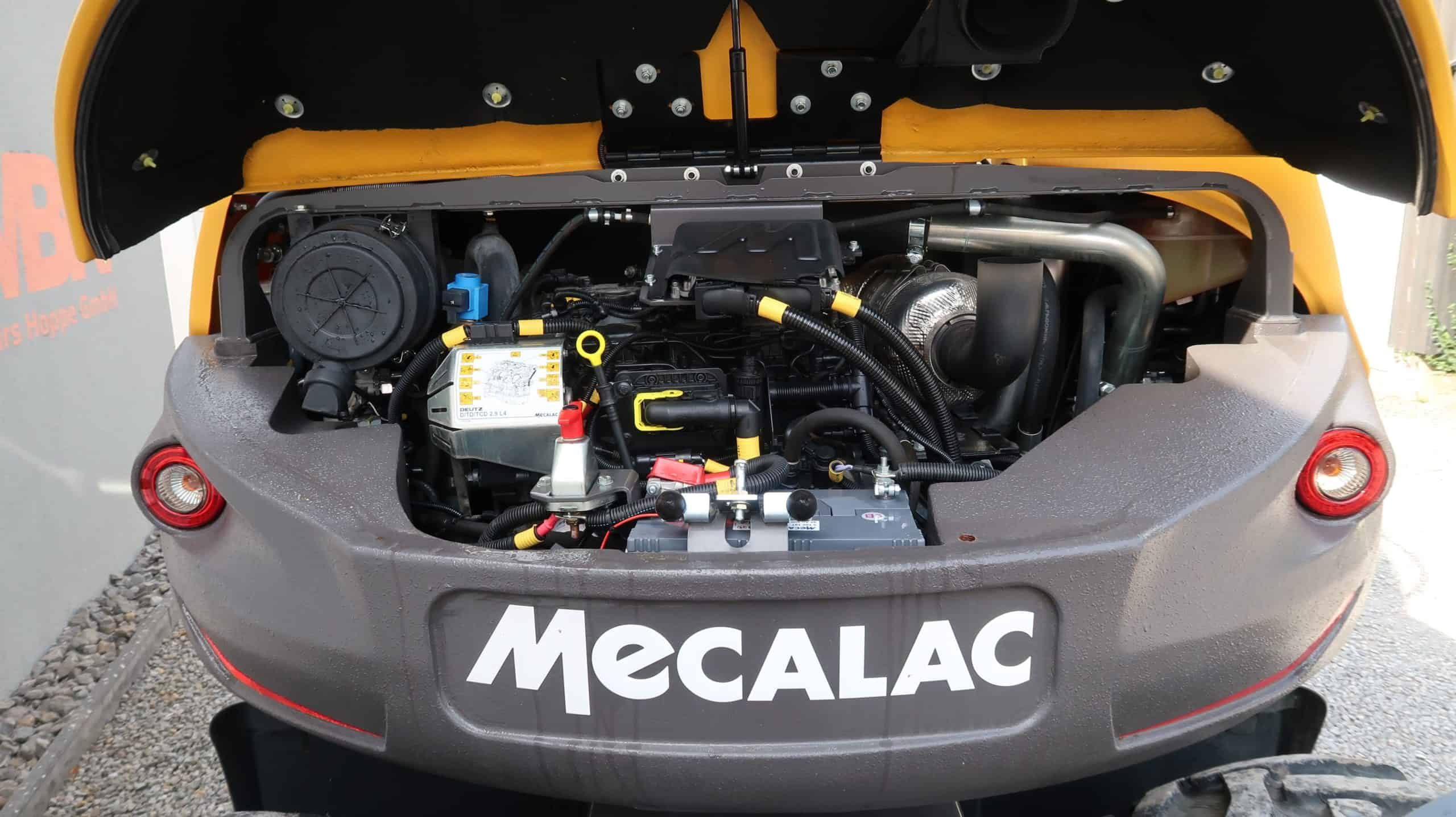 Mecalac-7 MWR-Mobilbagger-Motor