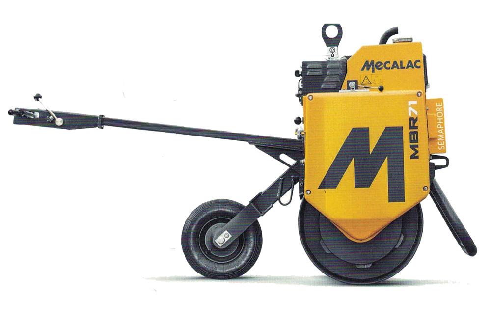 Mecalac Einrollenwalze MBR71