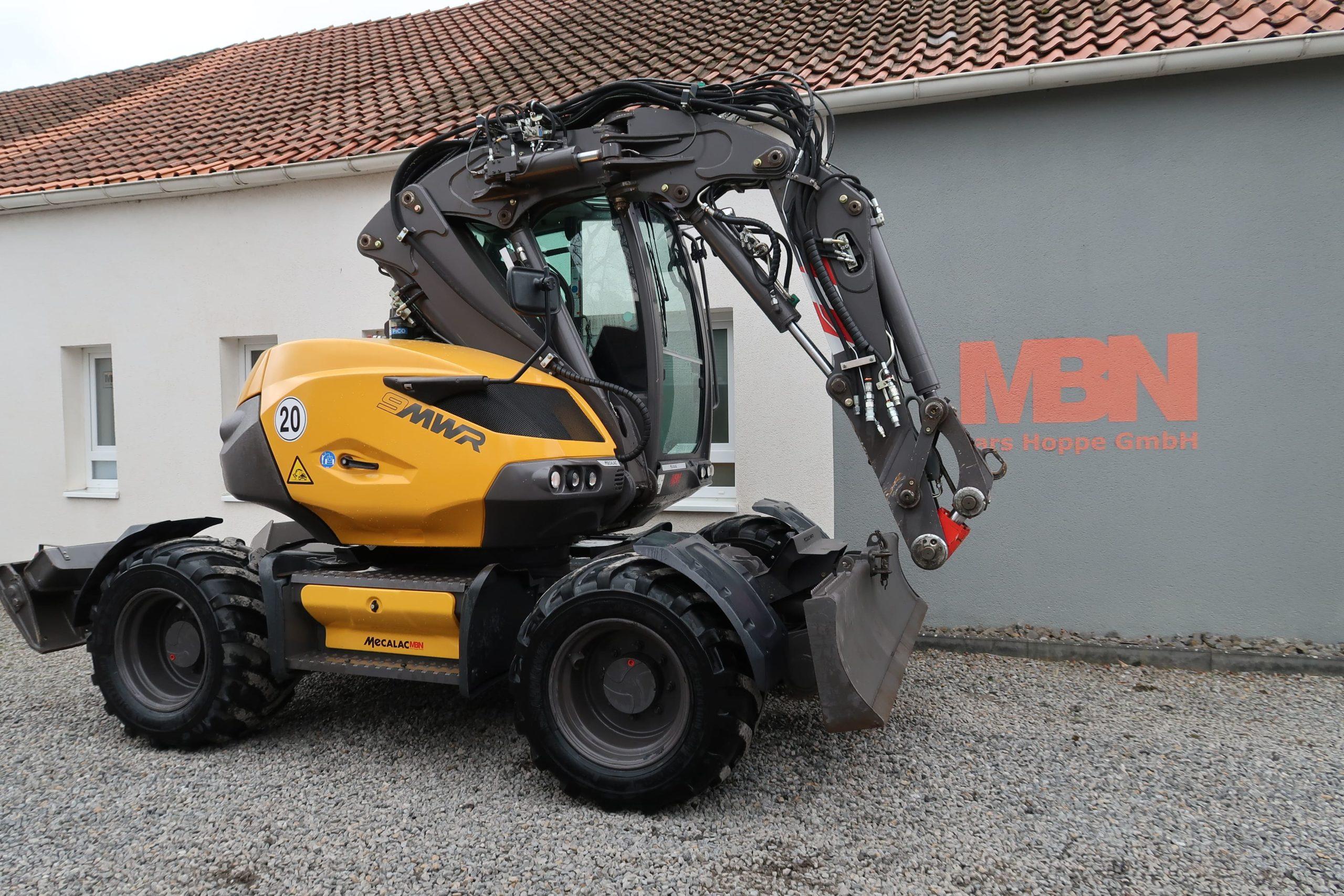 Mecalac_9MWR_Mobilbagger_excavator_Bagger_MBN_gebraucht_kaufen_Stadthagen_Hoppe